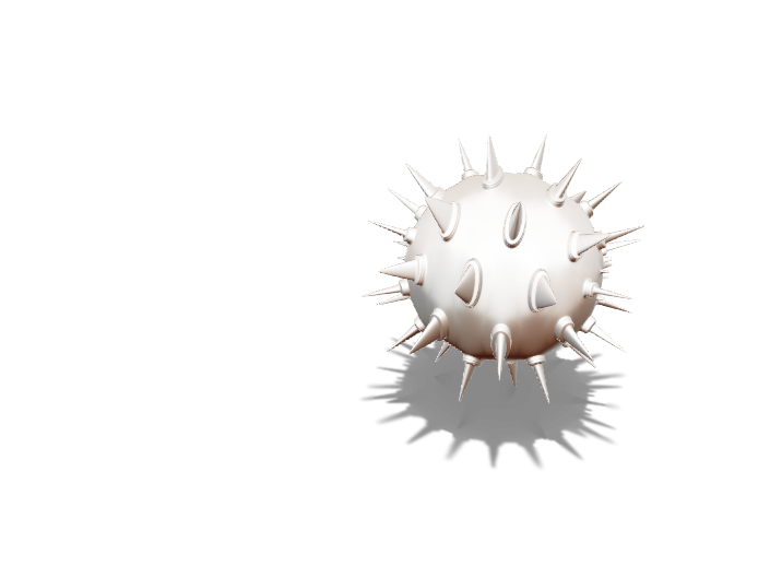 Big Spike Ball - 3D design by riceds Dec 6, 2017