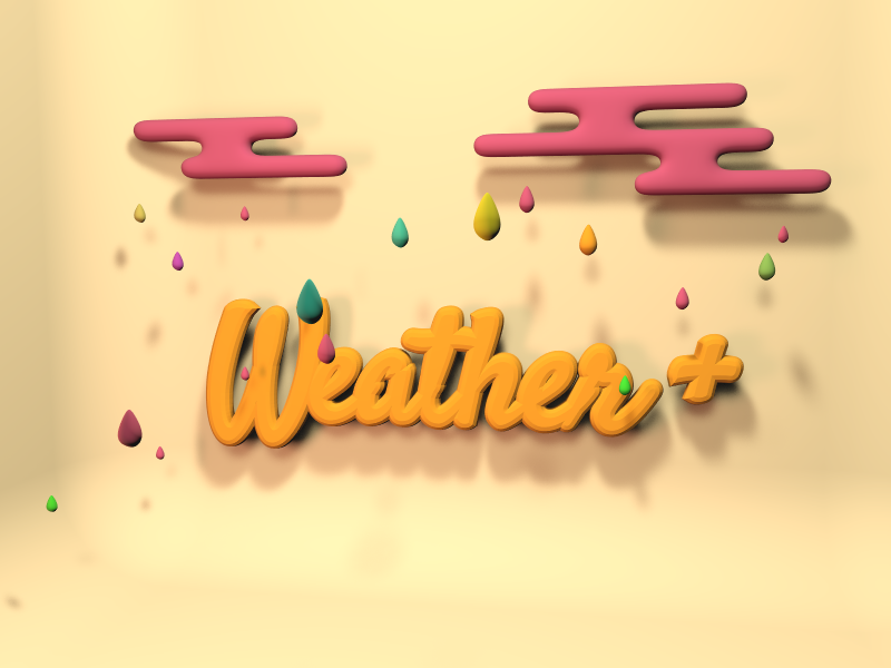 Weather sign - 3D design by Milan Gladiš May 18, 2018