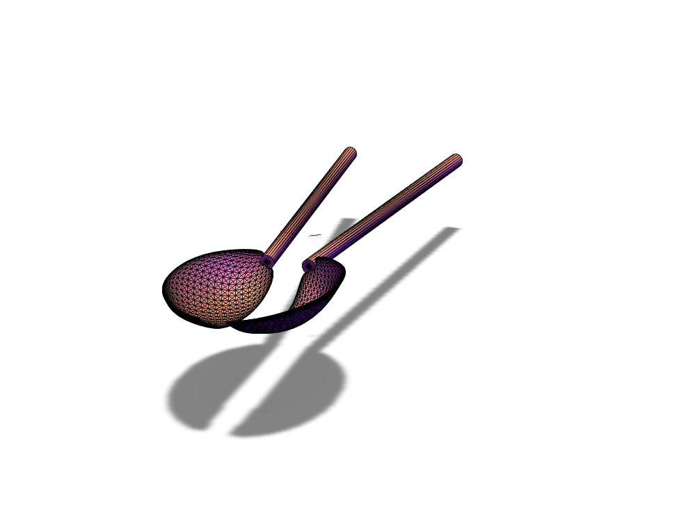 CHOP SPOONS!!!! - 3D design by Jacob Morel on Sep 16, 2017