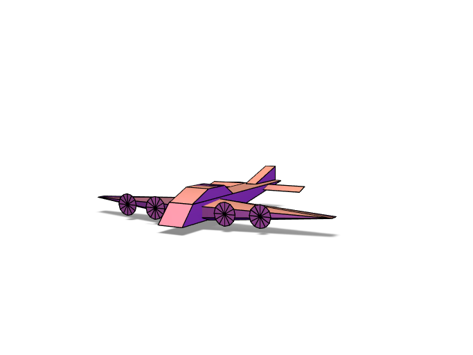 ww2 air plane - 3D design by bugarinfabian187 May 1, 2018