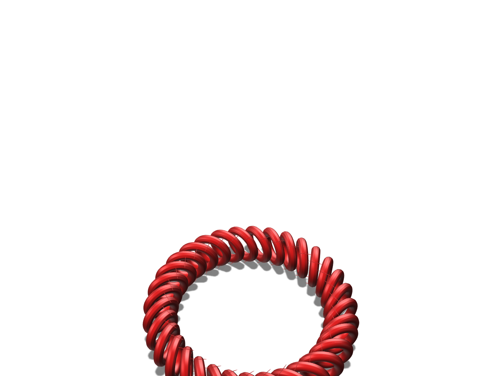 ring/bracelet - 3D design by rajatsethi7 on Apr 29, 2018