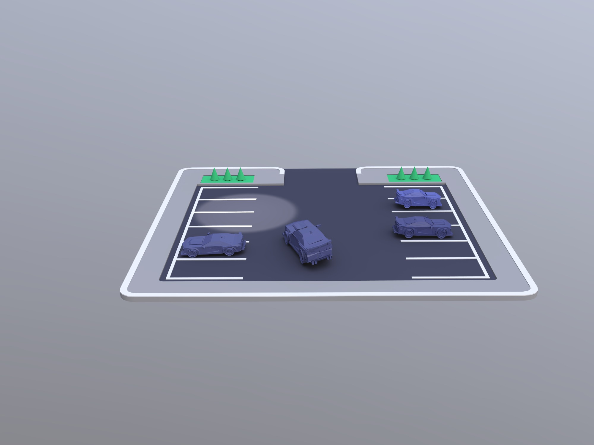Parking - 3D design by Akshat Sharma on Dec 12, 2018