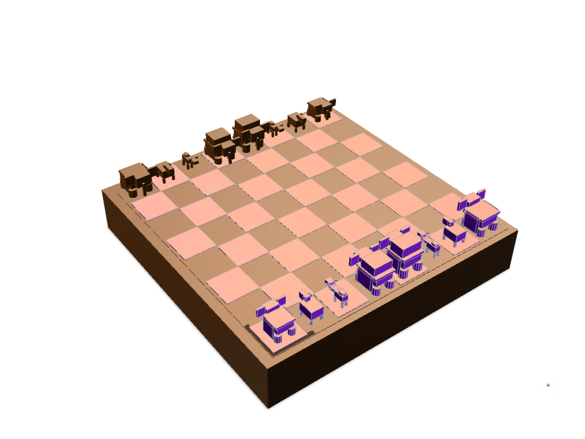 Chess - 3D design by Sahat.Jaldu.456 May 21, 2018