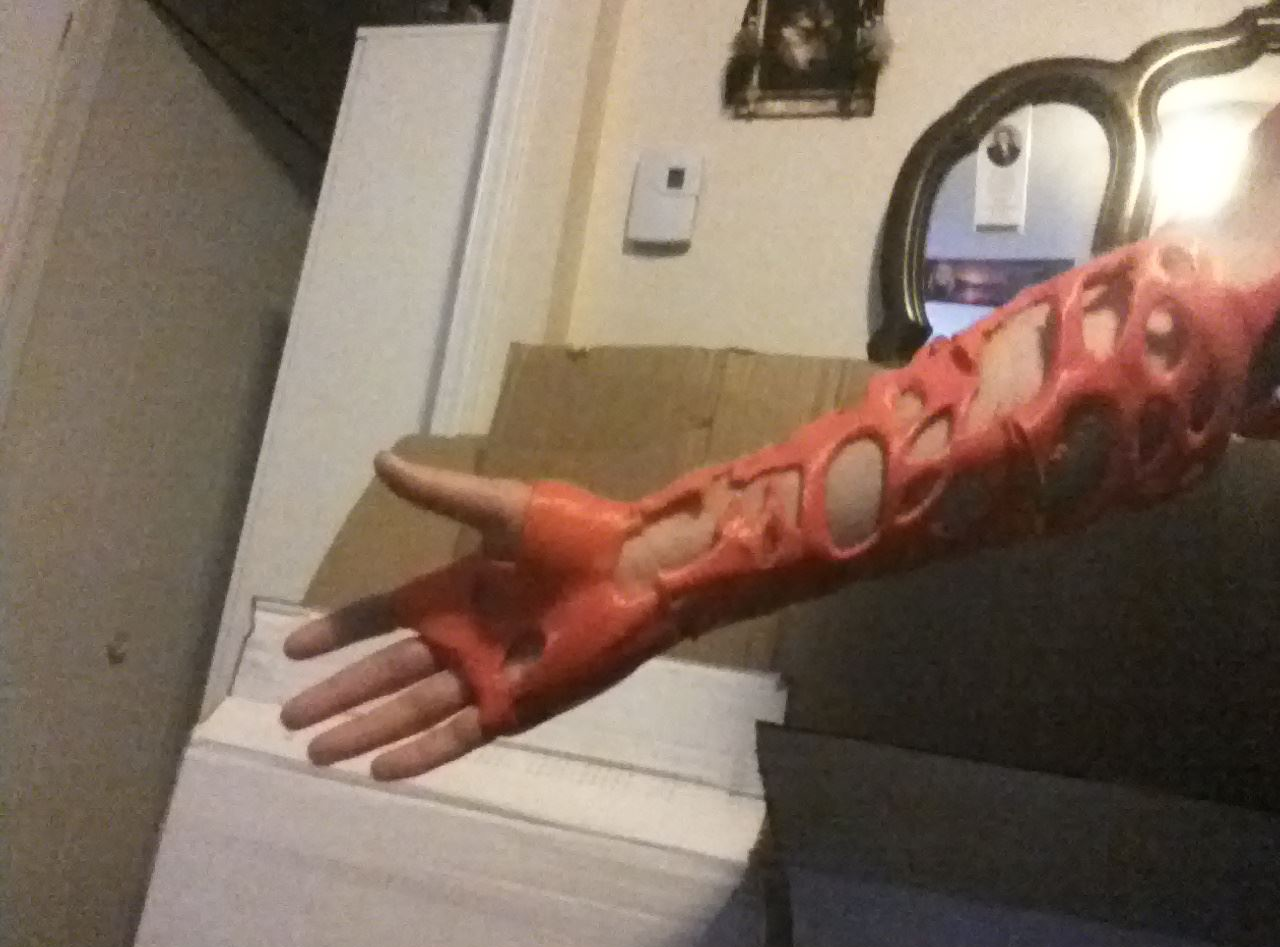 Cursed arm - 3D design by hallocharles31 Aug 11, 2017