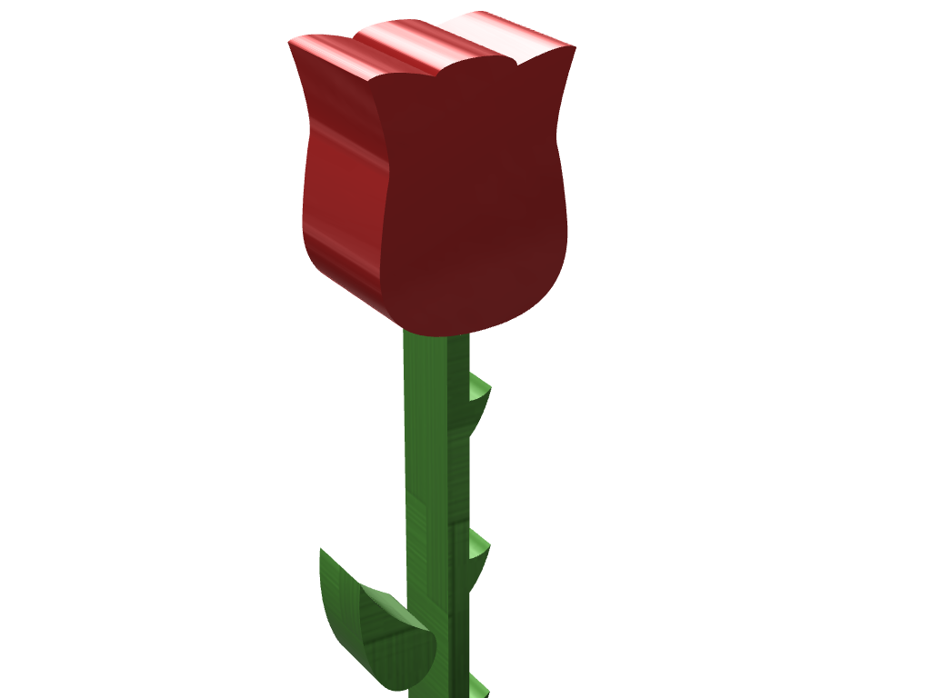 Flower - 3D design by Teo on Mar 8, 2017