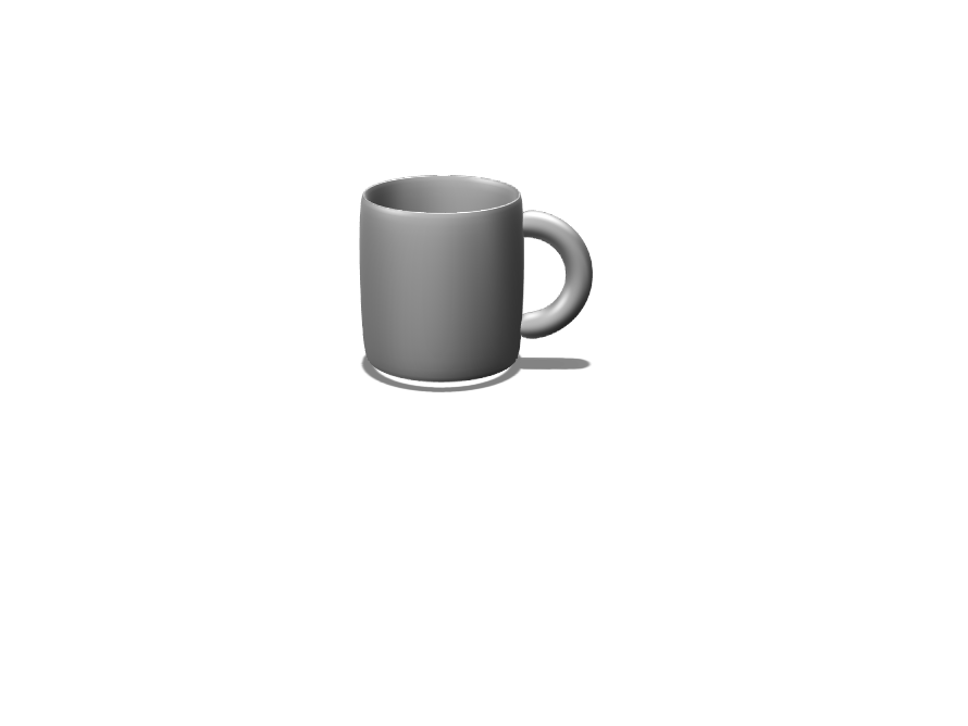 Coffee Mug - 3D design by RUSHJAM000 May 11, 2018