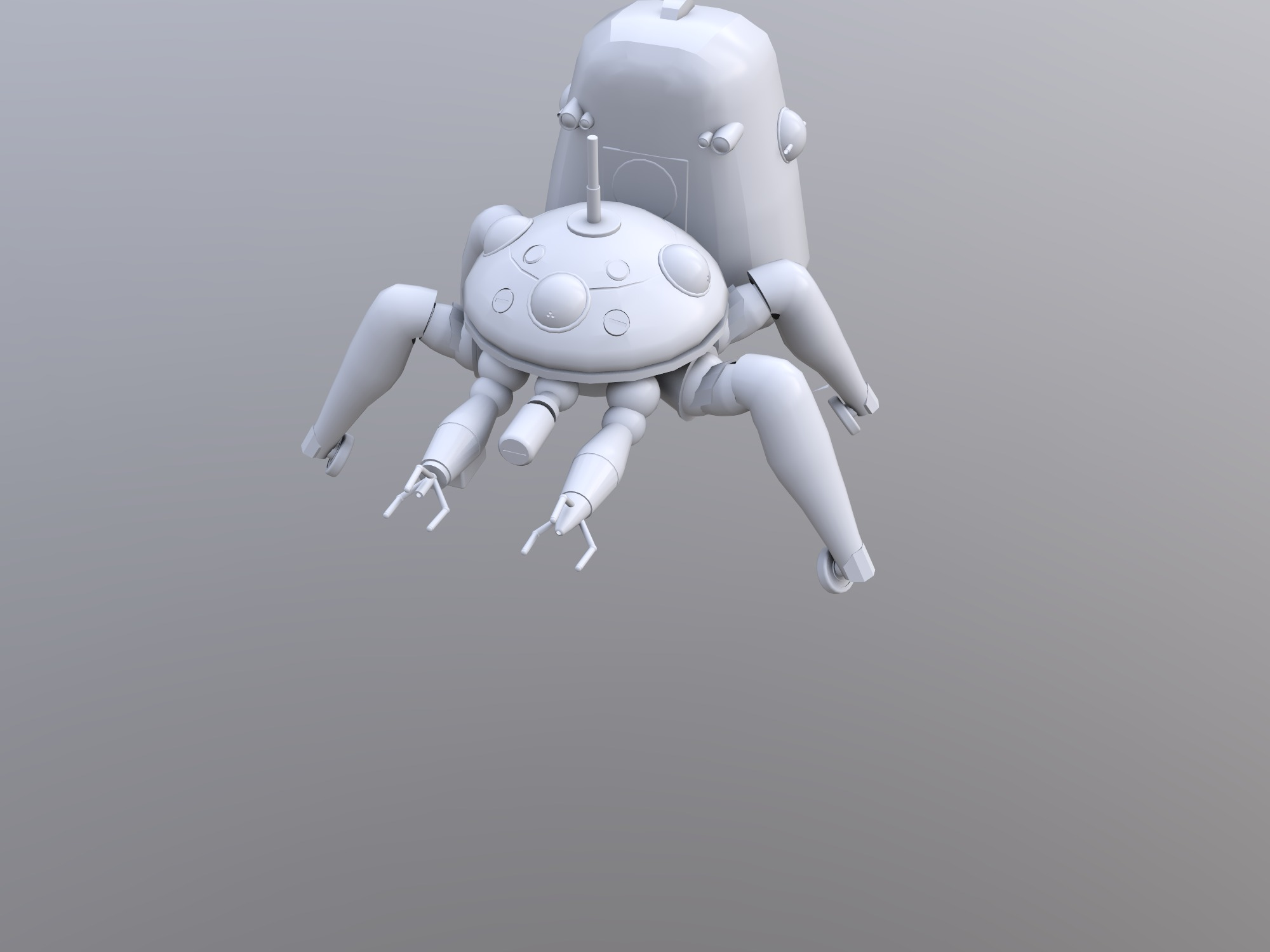 Tachikoma - 3D design by Keith Winters on Dec 13, 2018