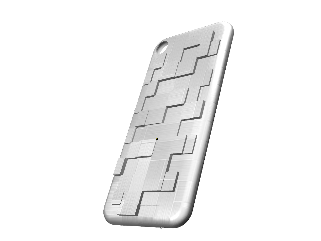 iPhone 7 fragmented cover - 3D design by federicotonini Aug 25, 2017