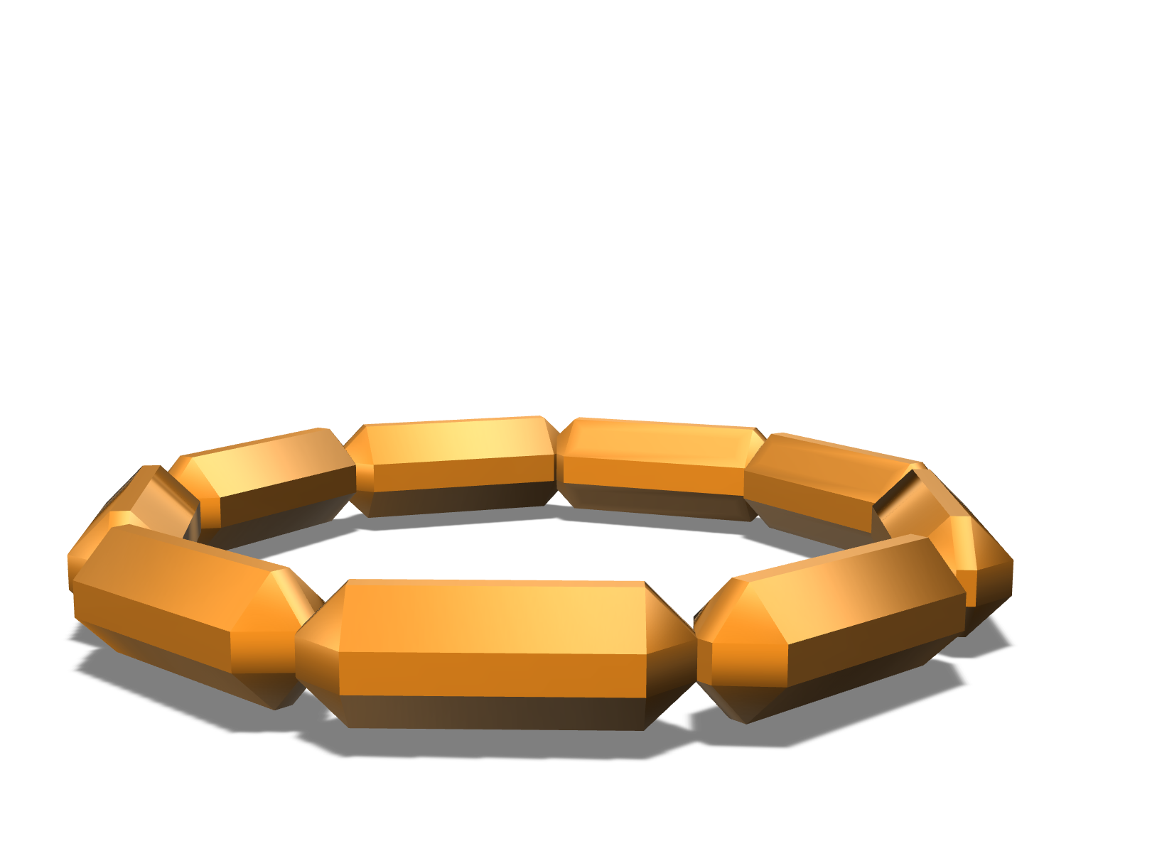 bracelet - 3D design by rajatsethi7 on Apr 29, 2018
