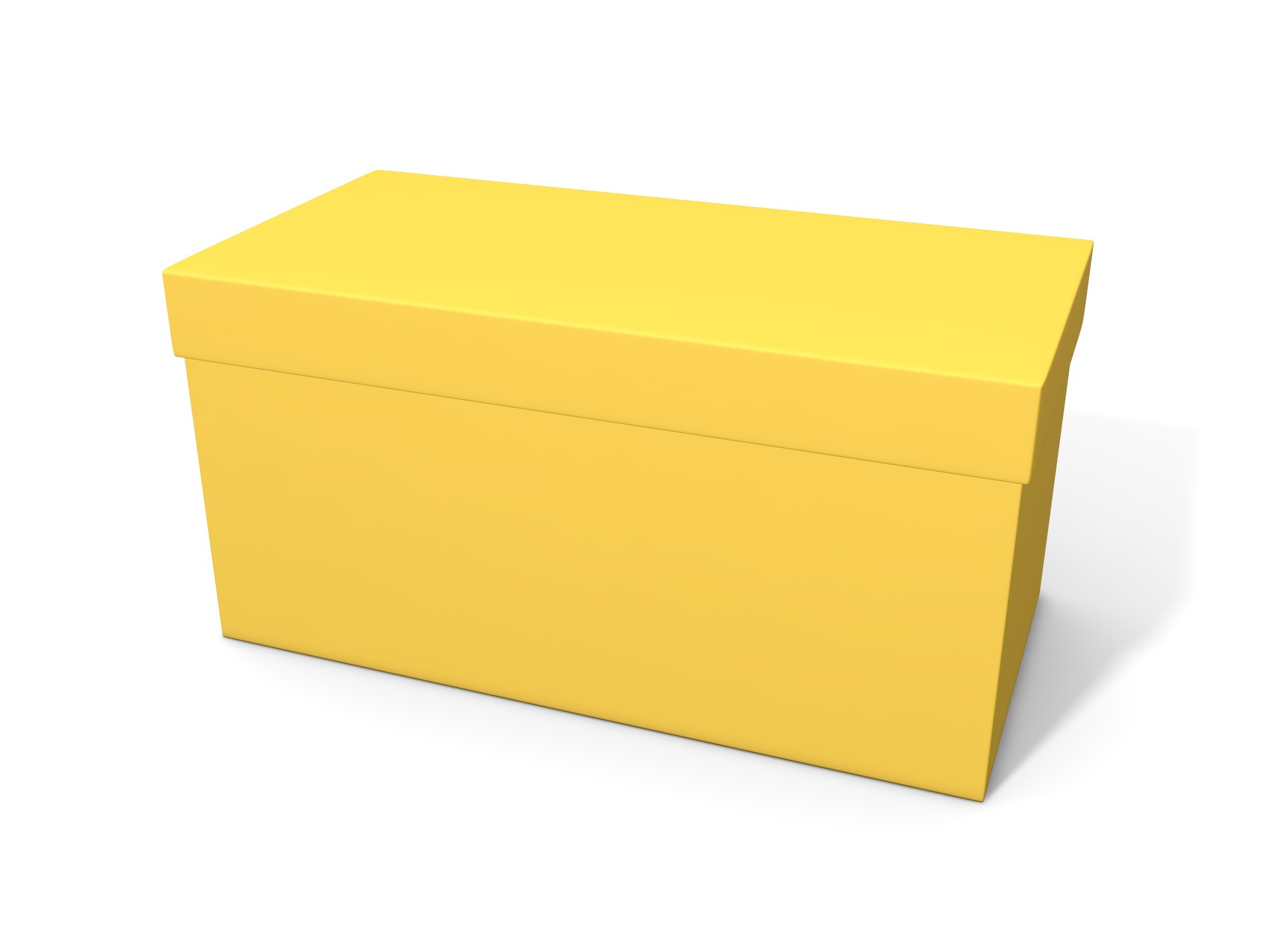 Box with lid 100 × 50 × 50 - 3D design by assets Nov 6, 2018