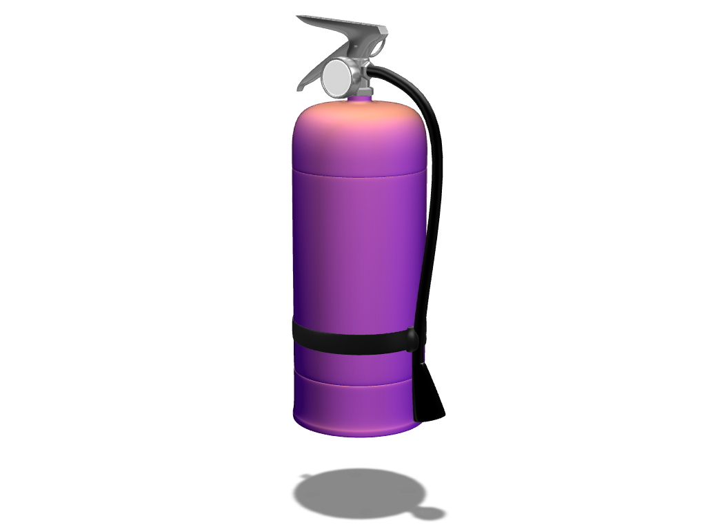 Fire extinguisher - 3D design by Andy Klement Feb 7, 2017