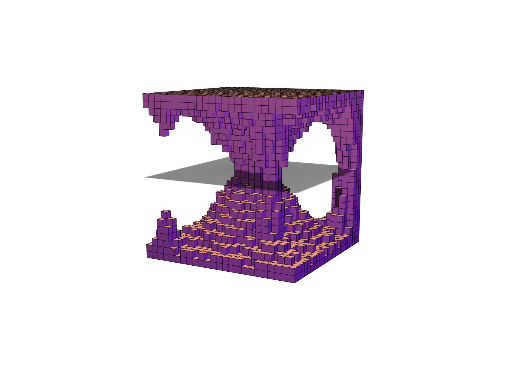 Cave Cube - 3D design by fmac Feb 15, 2018
