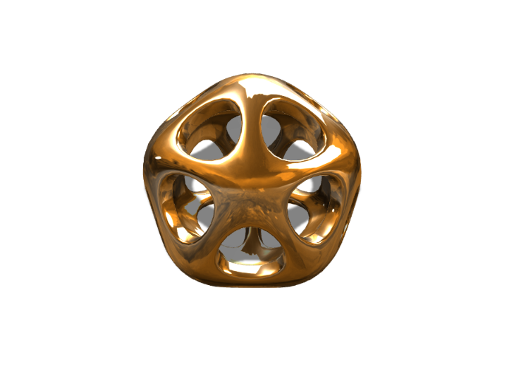 Organic Pendant - 3D design by Dan O'Connell Sep 15, 2017