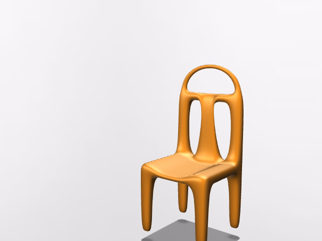 Workshop project - Chair - 3D design by Pavol Goliaš Aug 25, 2016