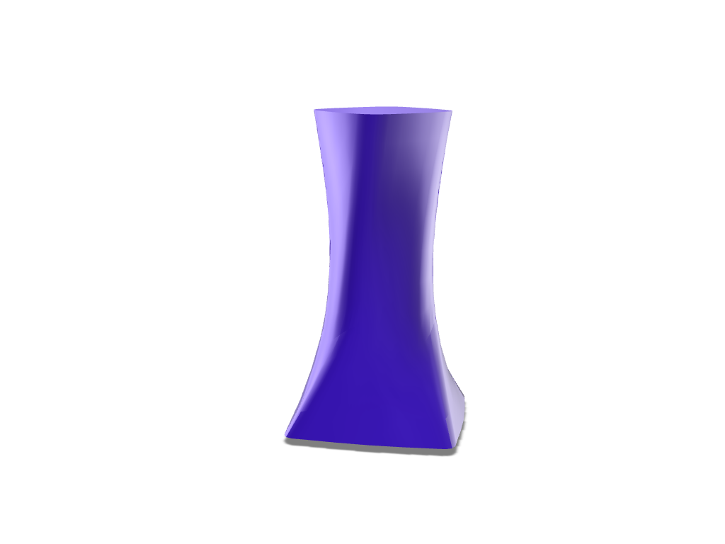 Simple Vase - 3D design by Mixed Gears on Nov 24, 2017