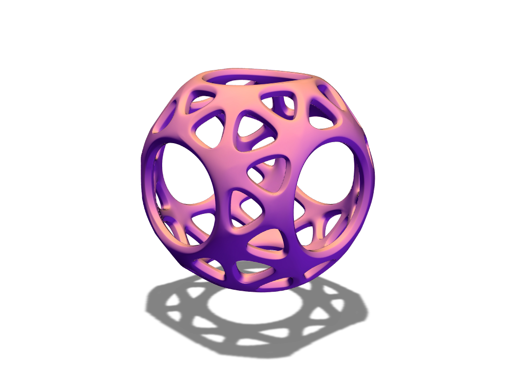 J&W bauble 17 - 3D design by baubleblaster on Dec 22, 2017