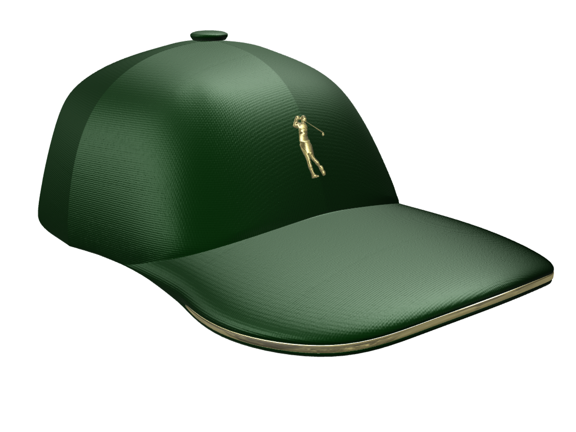 Golfer Hat - 3D design by Andy Klement Oct 13, 2017