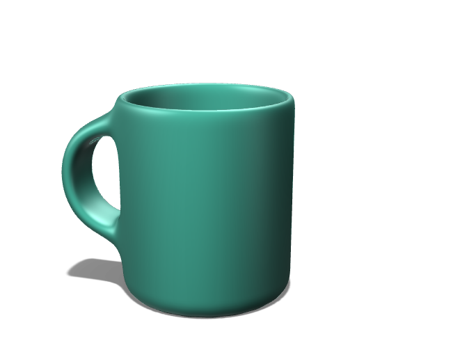 taza de arcilla 3d - 3D design by juanjitocordoba Nov 15, 2017