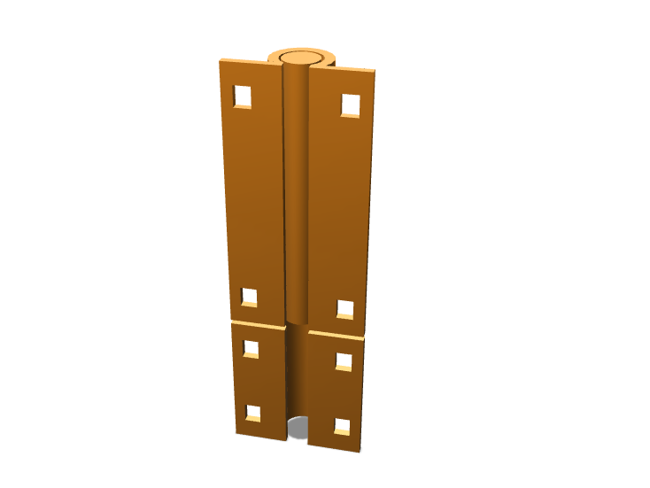 Door Lock Simple #1.1 - 3D design by abdullatest1010 Oct 13, 2017
