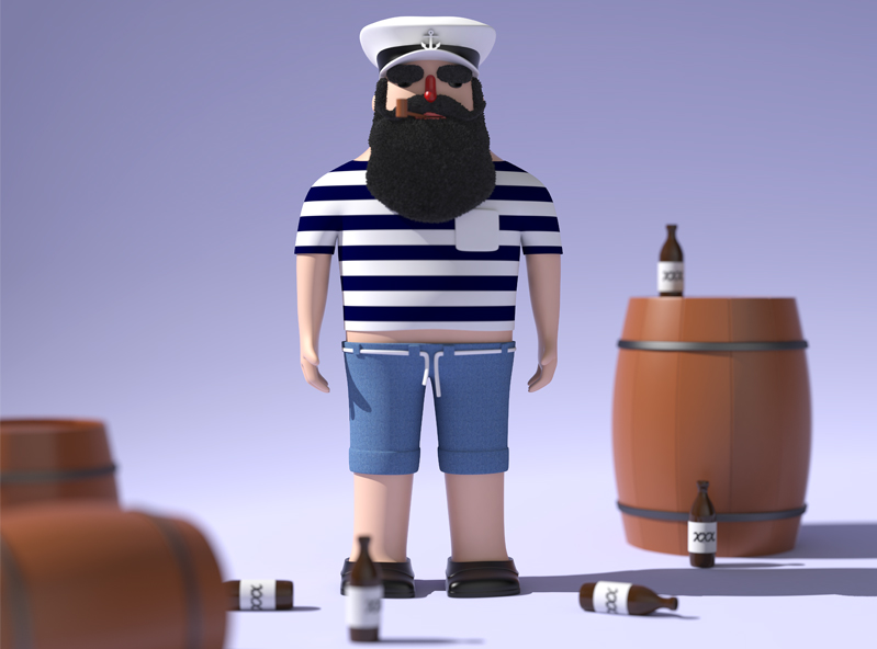 Sailor - 3D design by Adrian Jan 16, 2018