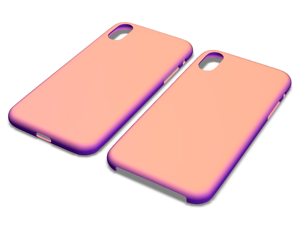 iPhone X case templates - 3D design by VECTARY Oct 29, 2017