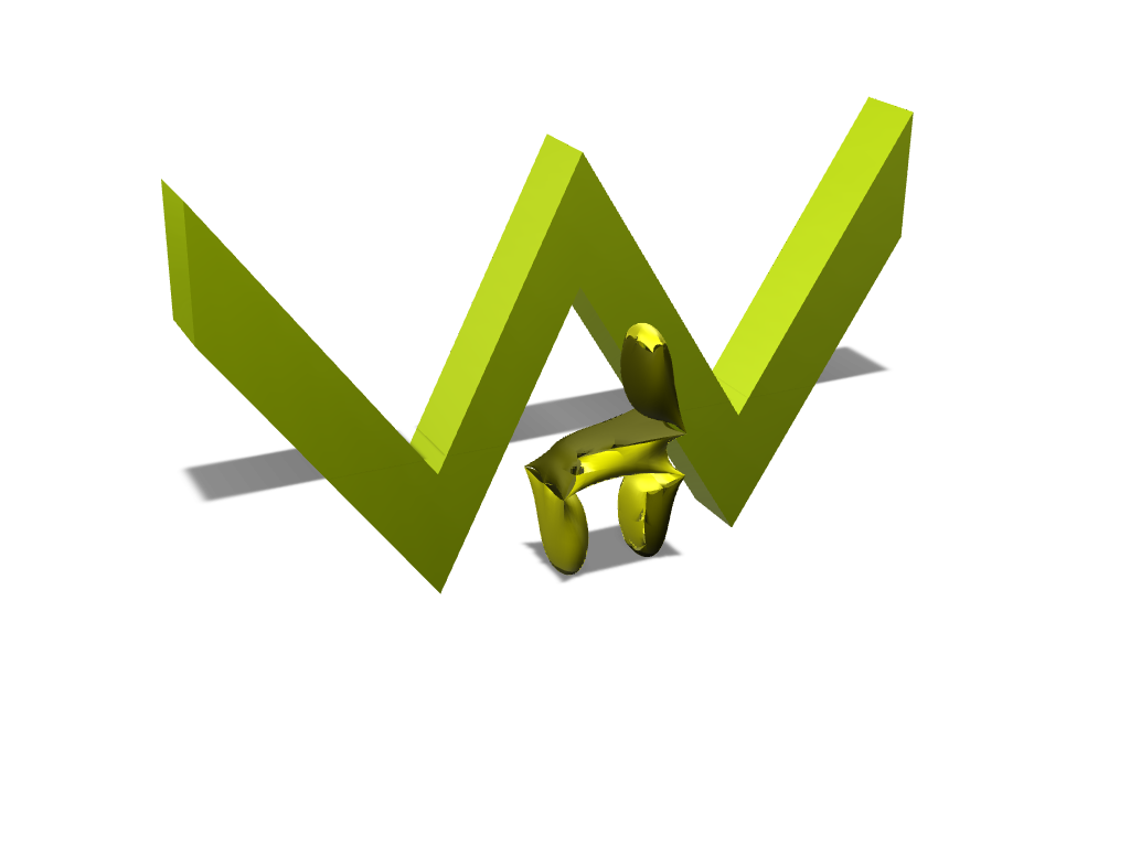 w + curved chair - 3D design by AnonymousUV Animations on May 19, 2017