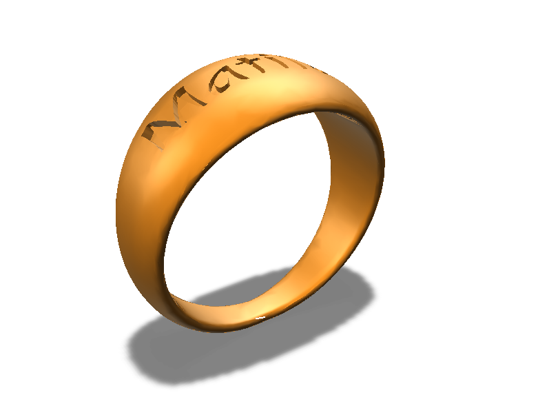 anello matilde - 3D design by enpen59 Aug 9, 2017