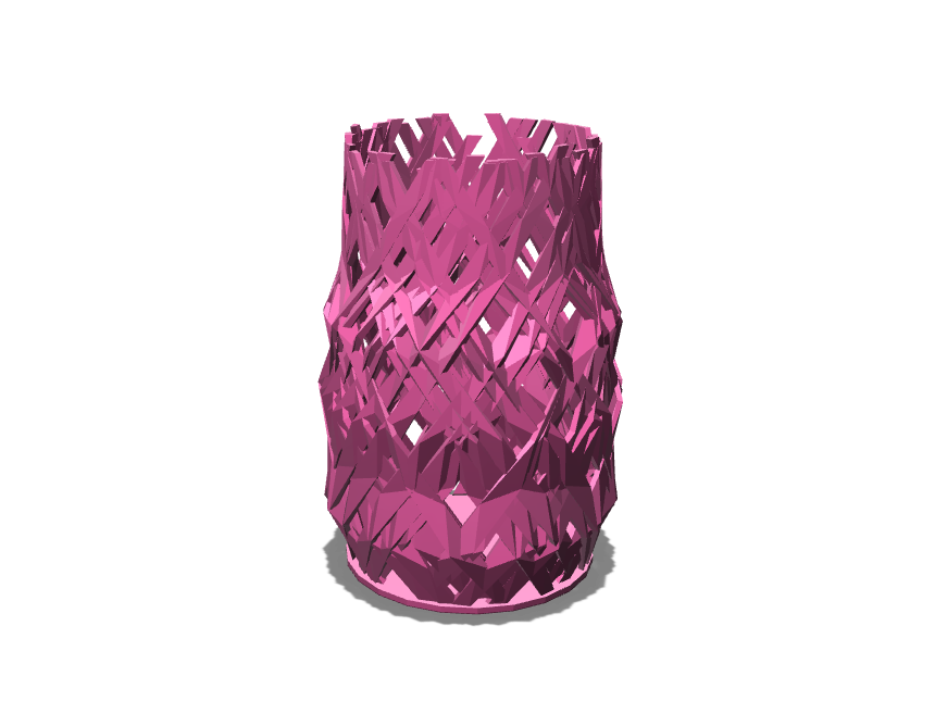 The Radial Creep Vase - 3D design by Enish Pastagia on Sep 12, 2017