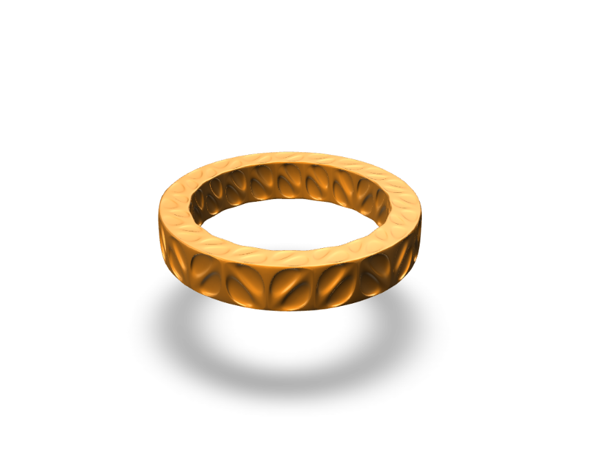 Parametric bracelet - 3D design by andrewreynolds3d on Aug 25, 2017
