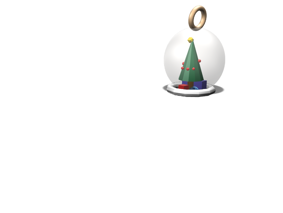 christmas design - 3D design by krios21 on Dec 6, 2017
