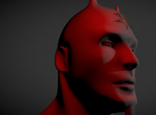 Satan - 3D design by Teo on Oct 20, 2016