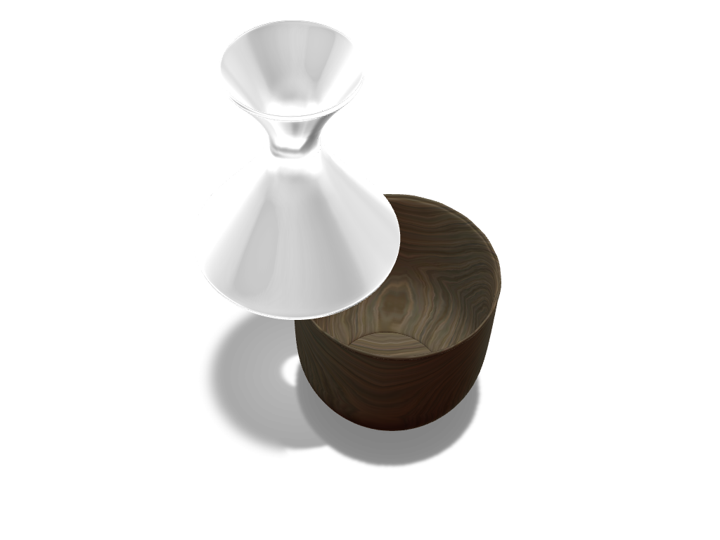 2 piece Vase - 3D design by deniz.fer Sep 15, 2017