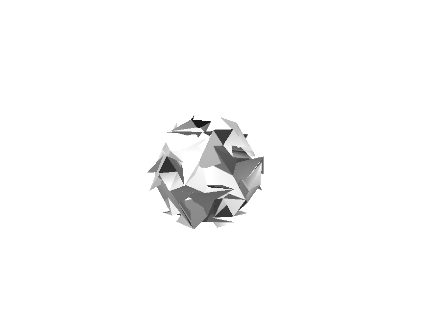 crumbled paper ball - 3D design by K.K. Studios on Nov 6, 2017