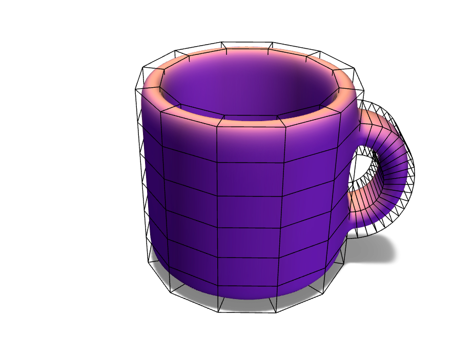 Simple mug Estefi - 3D design by Estefania Pineda Nov 1, 2017