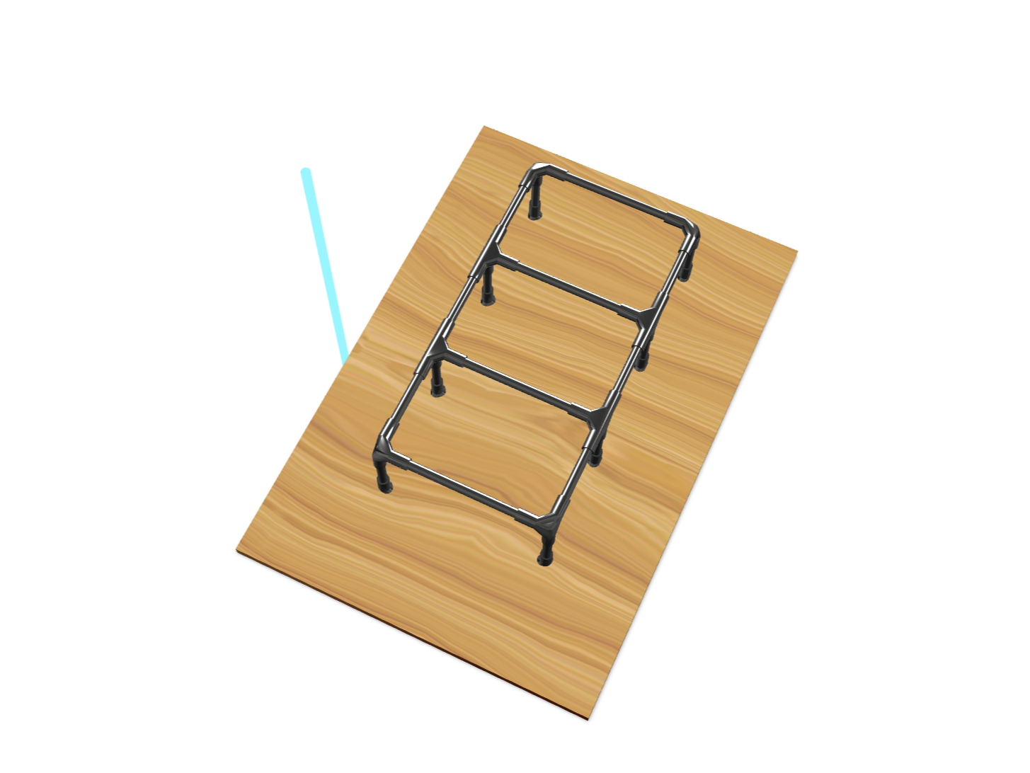 short ladder - 3D design by s.macphee Dec 22, 2017