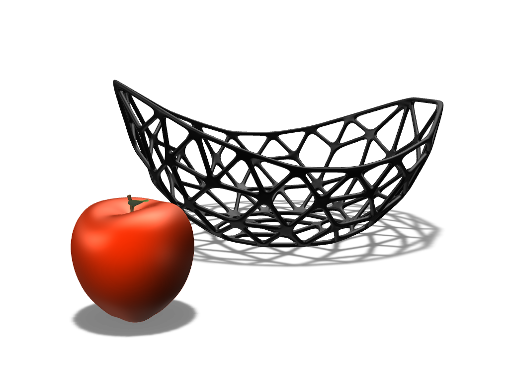 Parametric bowl - 3D design by Johnnyal Feb 1, 2017