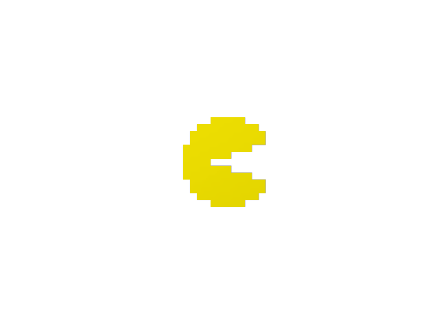 Pac-Man - 3D design by The Mii Lab on Aug 26, 2017
