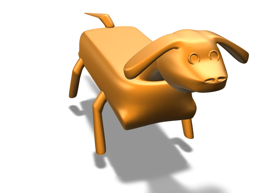 dog stl - 3D design by danilskolmakovs on Jan 9, 2018