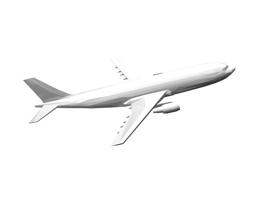 Plane - 3D design by alvin Apr 4, 2018