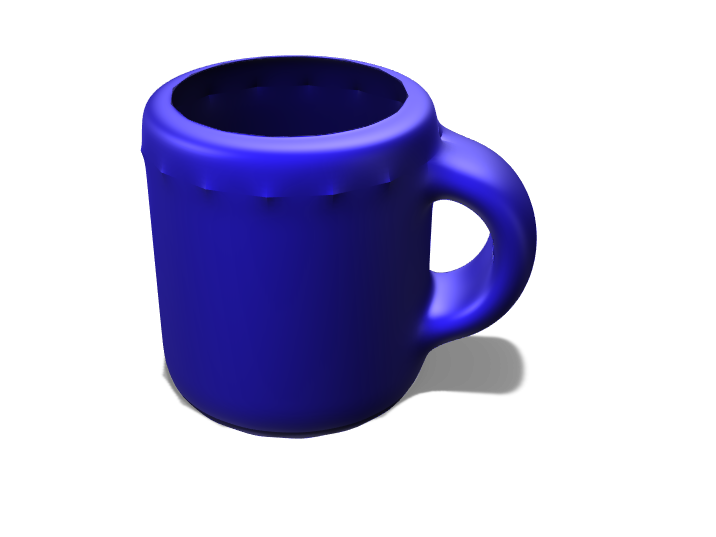 Coffee mug. - 3D design by ayanna.deluna Mar 23, 2018