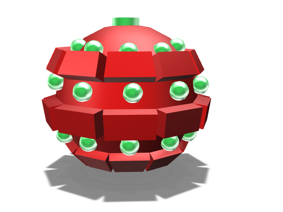 Christmas Ornament - 3D design by rchari21 on Dec 6, 2017
