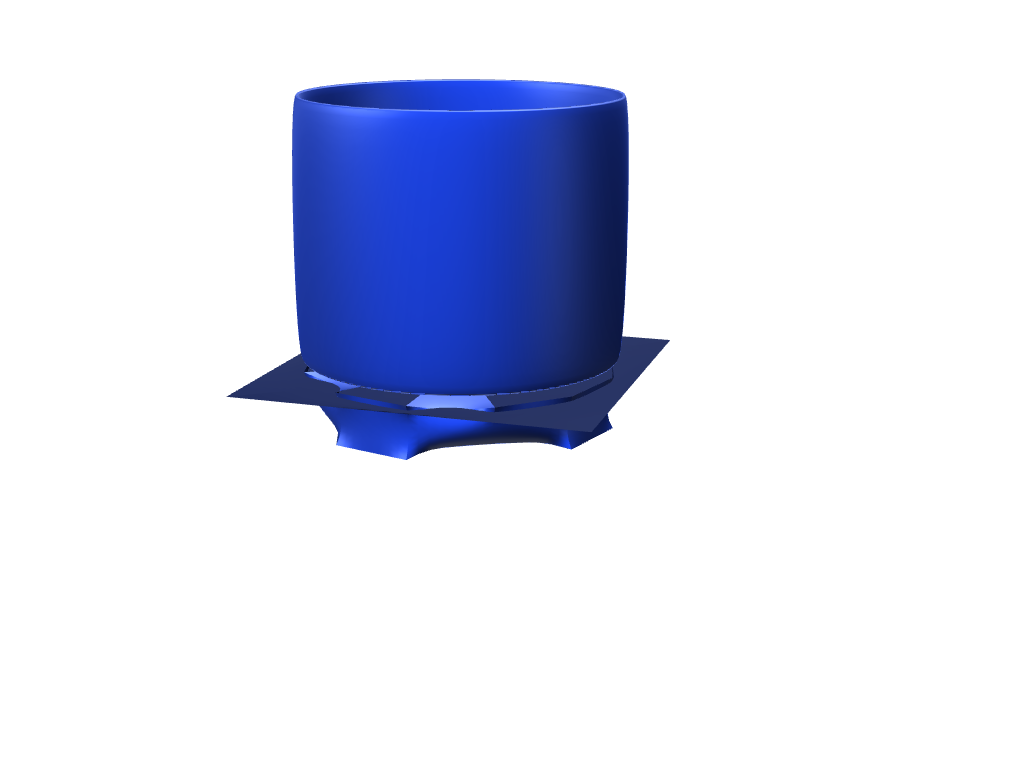 blue pot - 3D design by jack.cabell Nov 30, 2017
