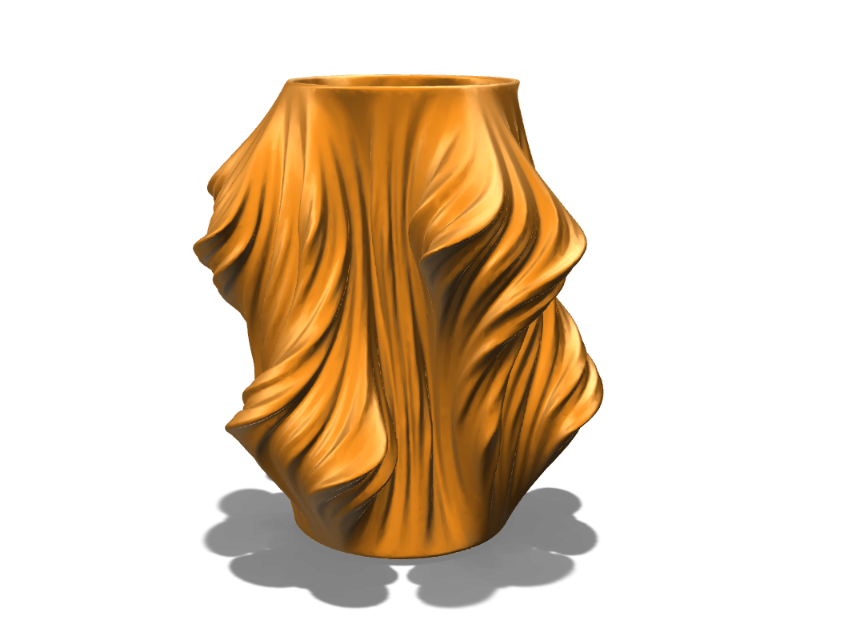 Flaming Vase - 3D design by Odds and Ends Aug 23, 2017