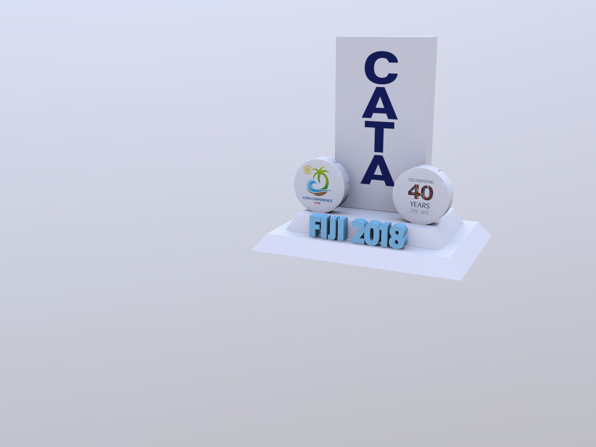 CATA Block (copy) (copy) - 3D design by George Mow Oct 18, 2018