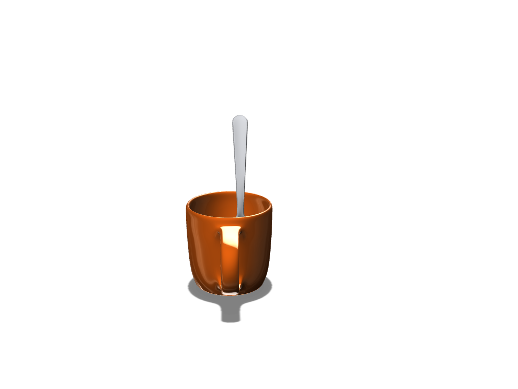 Mug-Spoon-1 - 3D design by Robert Sullivan on Oct 21, 2017