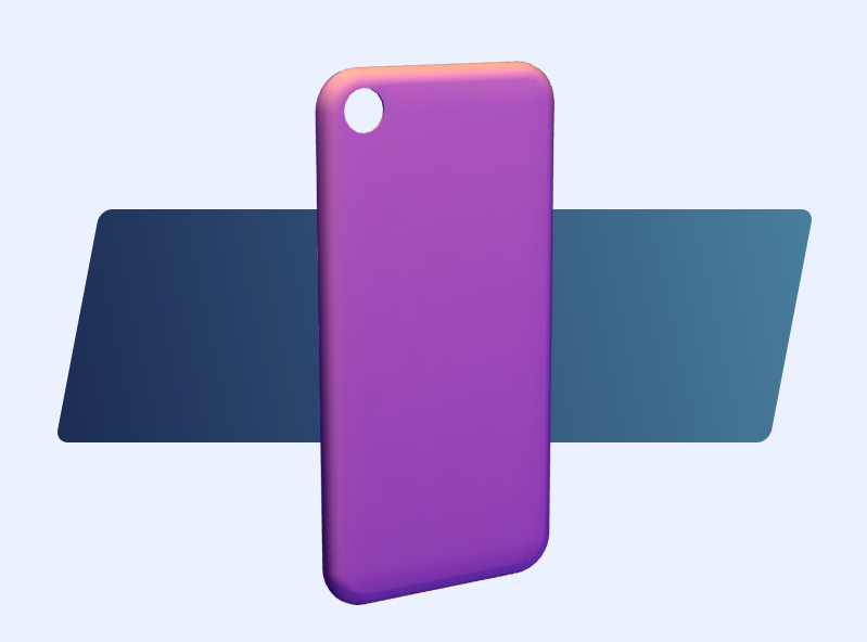 iPhone 7 cover template | MyMiniFactory Design Competition - 3D design by VECTARY Aug 10, 2017
