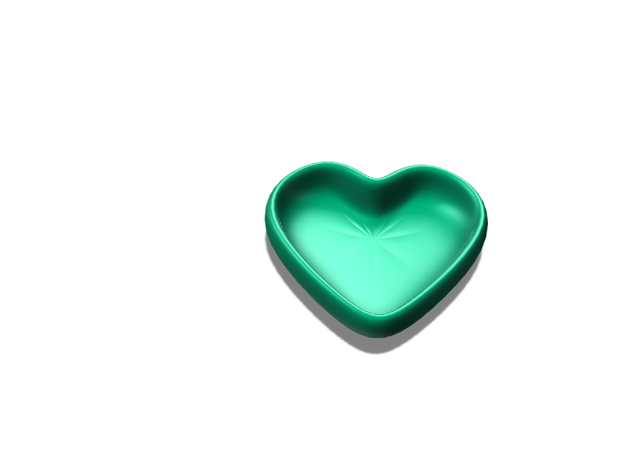 My Mini Heart Bowl - 3D design by conwaysx97 Mar 4, 2018
