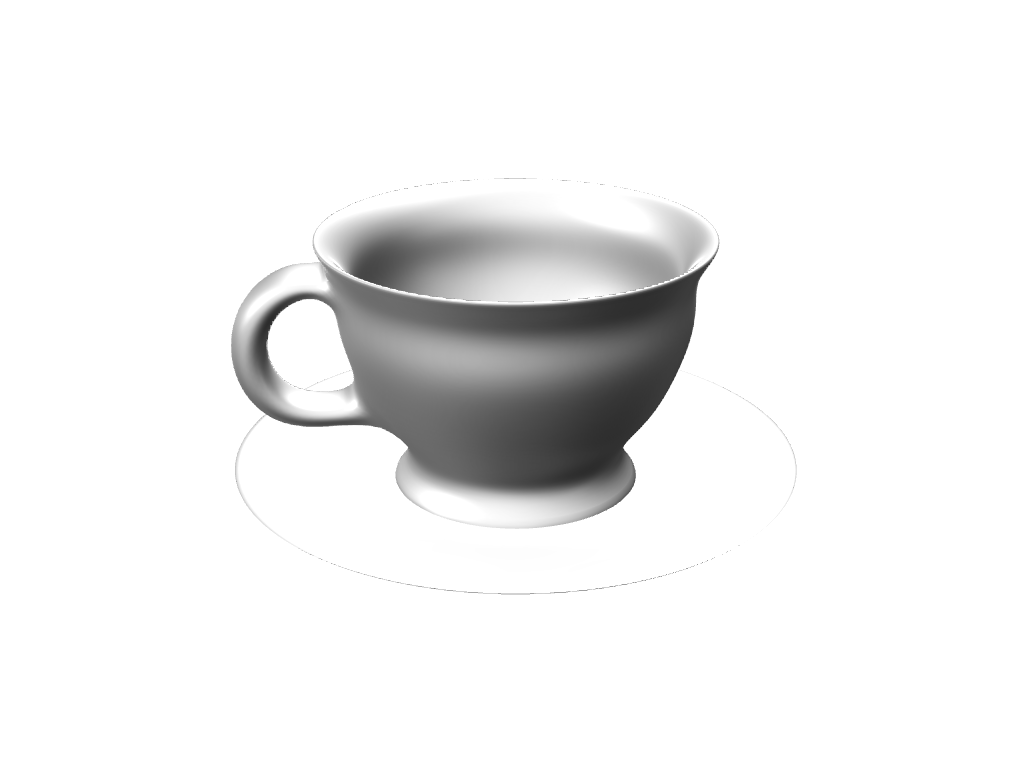 posh teacup - 3D design by blabla Sep 9, 2016