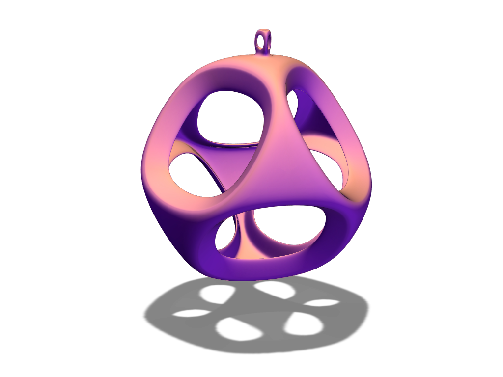 Bauble  - 3D design by michaelseverian Dec 18, 2017