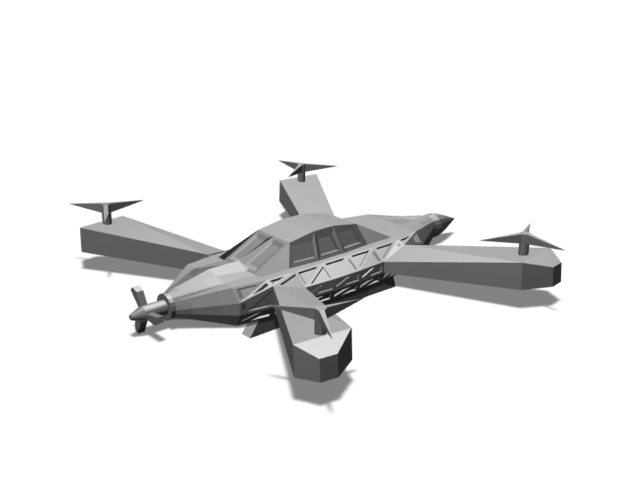 Drone - 3D design by Enish Pastagia Sep 8, 2017